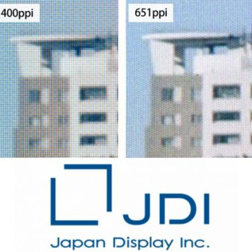 Japan Display virtual reality scherm met 651ppi