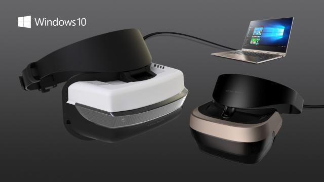 Geen zware game-pc nodig voor VR-brillen Windows 10