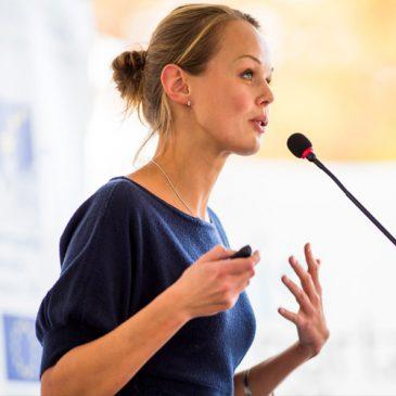 Speech oefenen op virtueel publiek helpt bij presenteren