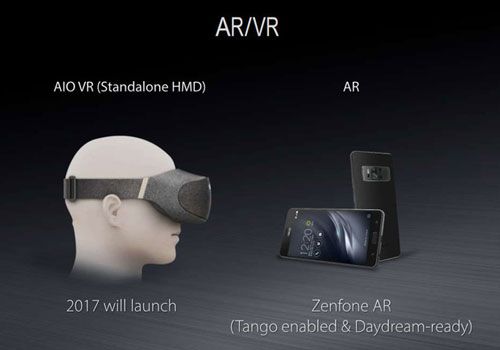 Asus minder tablets meer virtual en augmented reality