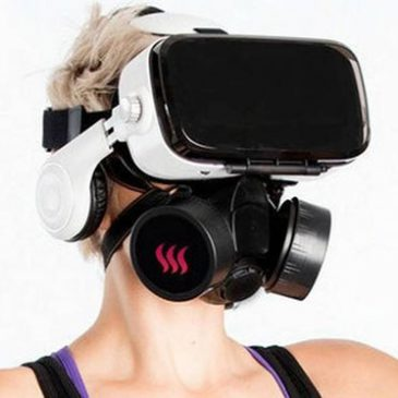 OhRoma geurmasker voor vr experience