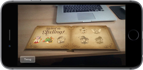 virtual reality efteling albert heijn sprookjes