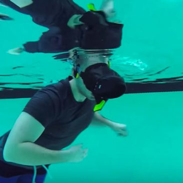 Experiment: kan Virtual Reality onder water?