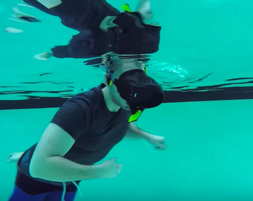 virtual reality onder water