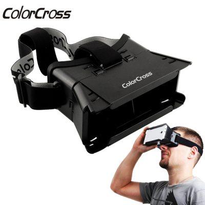 "vr bril ColorCross Virtual Reality 3D Bril voor 4-6"" Smartphones"