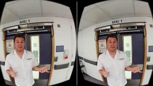 ziekenhuis virtual reality kinderen gerust stellen mri scan