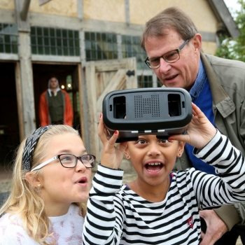 Virtual Reality route in prehistorisch Dorp in Eindhoven