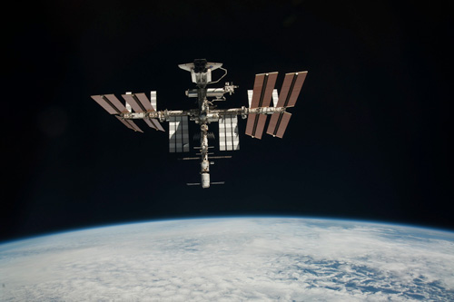 vr app mission iss ruimtestation
